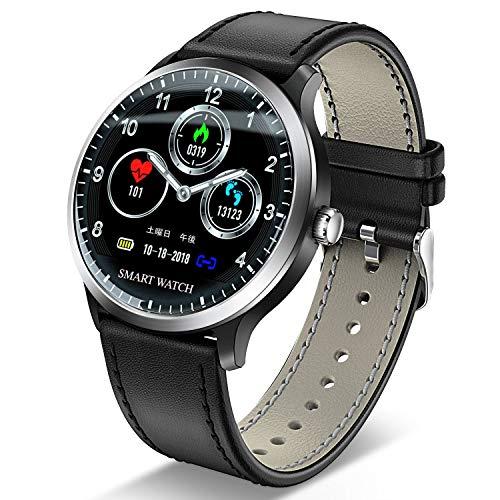 【令和モデル】 スマートウォッチ 最新版 心拍計 血圧計 ス...