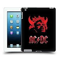 オフィシャル AC/DC ACDC デビル・ヘッド アイコニック ハードバックケース Apple iPad 3 / iPad 4