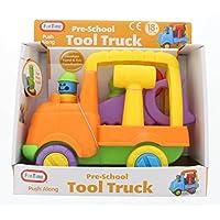 Fun Time 5053 Pre-School Fun Play Push Along Tool Truck by Funtime