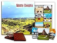 """DA CHOCOLATE キャンディ スーベニア """"ノースダコタ州"""" NORTH DAKOTA チョコレートセット 5×5一箱 (View)"""