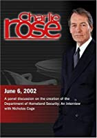 Charlie Rose (June 6 2002)【DVD】 [並行輸入品]