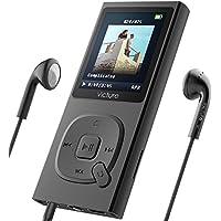 Victure MP3プレーヤー 最大100時間音楽再生 超軽量 HIFI高音質 8GB内蔵容量 最大64GBまで拡張可能 イヤホーン 1.8TFT画面サイズ FMラジオ ボイスレコーダー