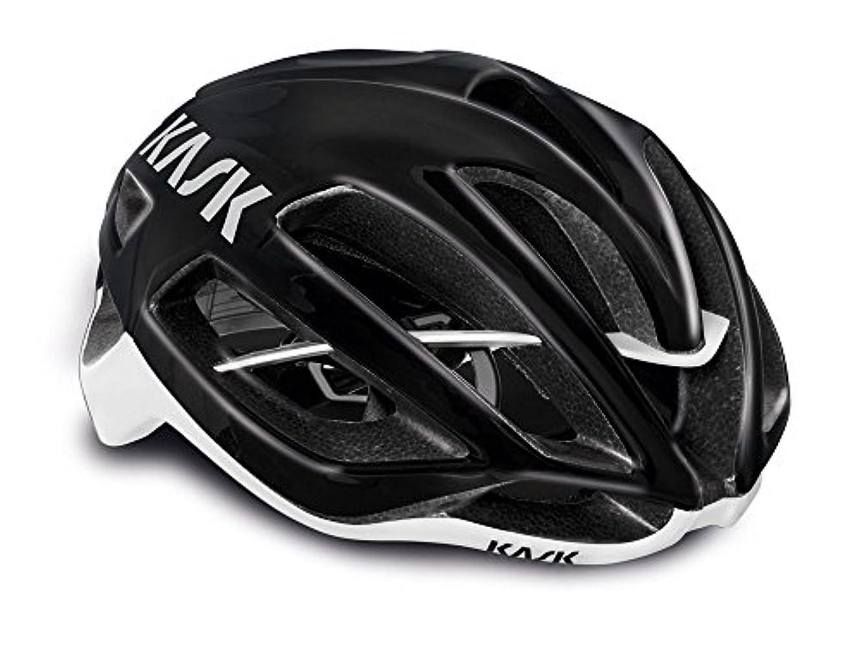 タバコ集団的確かめるKASK(カスク) PROTONE <ブラック/ホワイト> ロードヘルメット