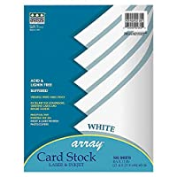 Array Card Stock, 65 lbs., Letter, White, 100 Sheets/Pack (並行輸入品)