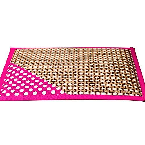 Ninkipet(ニンキペット)ペット用夏冷却ベッドマット 涼感ソフトジェルマット 熱中症 暑さ対策 大中小型犬/猫用 (L, ピンク)