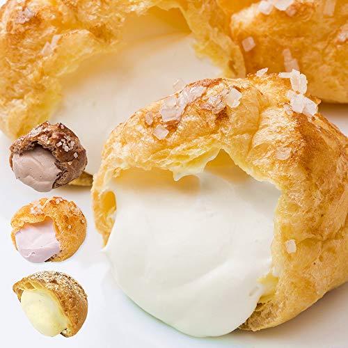 バラエティセット 5個入 ざらめシュー カスタードシュー 洋菓子 シュークリーム 詰め合わせ