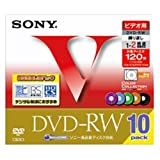 録画用DVD‐RW120分(10枚) 181-749