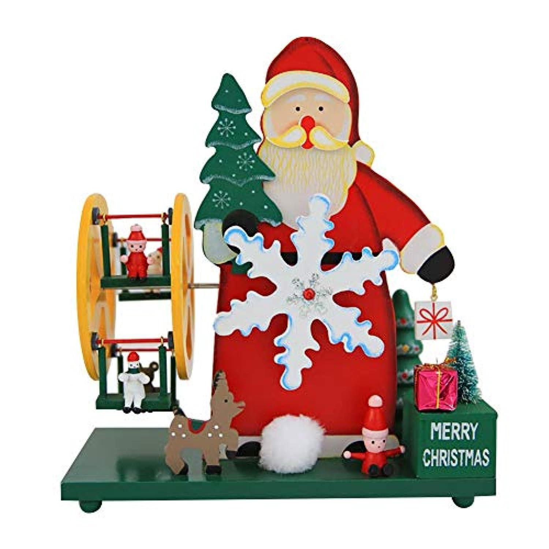 クリスマス オルゴール 雪だるま サンタロース 装飾 子供プレゼント クリスマスソン