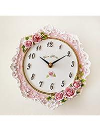 ピンクローズ 掛時計 掛け時計