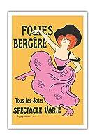 フォーリー・ベルジェール - パリ、フランス - 毎晩様々なショー - によって作成された リオネト・カピエロ c.1900 - アートポスター - 76cm x 112cm