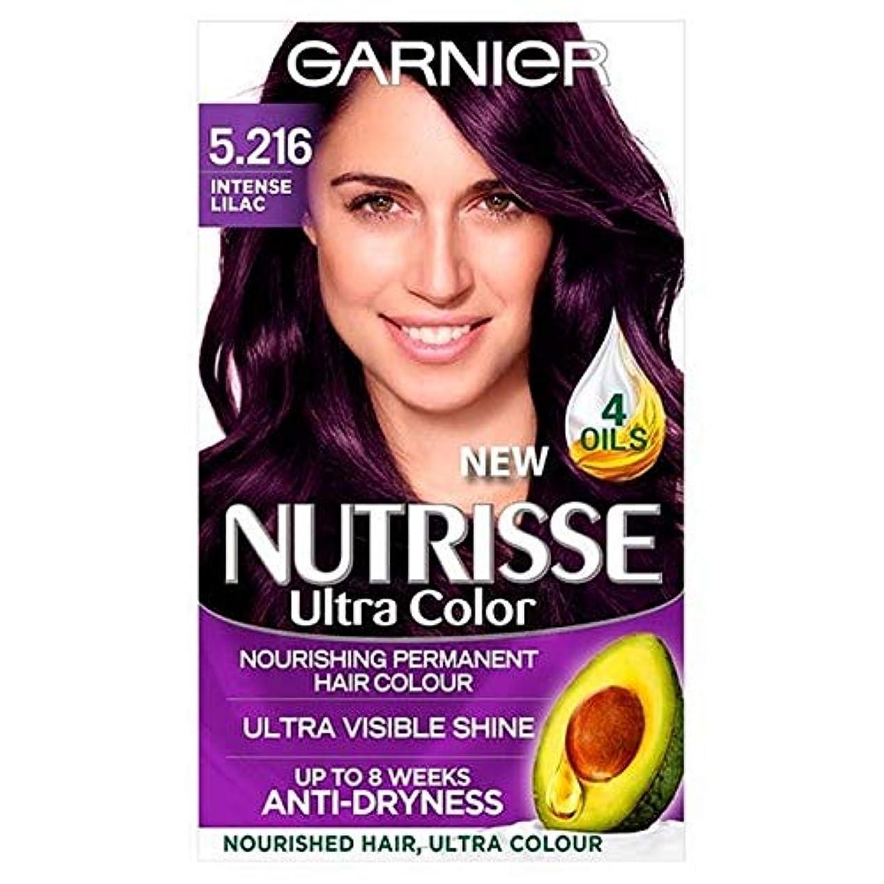 解体する解釈的間接的[Garnier ] 5.216超強烈なライラックパーマ毛染めNutrisseガルニエ - Garnier Nutrisse 5.216 Ultra Intense Lilac Perm Hair Dye [並行輸入品]