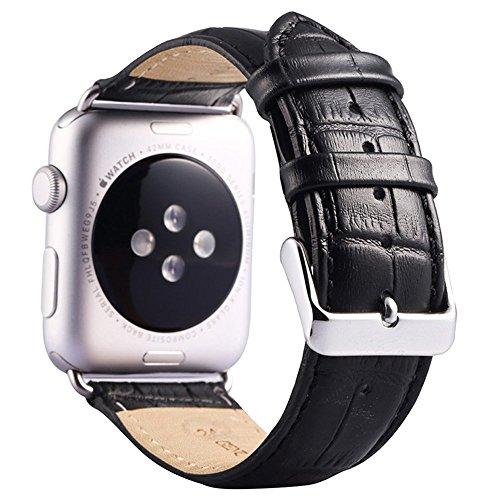(ミーモール)Miimall Apple Watch バンド 38mm レザー皮革 高?アップル ウオッチ バンド 本 革 ベルト 留め金アップル ウォッチ バンド ((iwatch バンド)