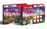 MAGSPACE・マグスペース 73 高級「建築家セット」 想像力を育てる知育玩具