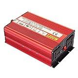 AUTOINBOX インバーター 正弦波 カーインバーター パワー 12v 1200W 変換器 変圧器 DC 12V → AC 110V 可変周波数 50Hz/60Hz 車から家庭用電源 非常電源・補助電源に