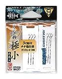 がまかつ(Gamakatsu) テトロン糸付 タナゴ鈎 フック 極小 ハリス-テトロン#100 釣り針