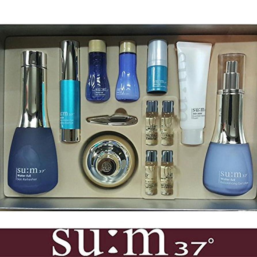 独占ロッジ離れた[su:m37/スム37°] SUM37 WATER FULL Special Set/ sum37 スム37 ウォーターフル 3種企画セット+[Sample Gift](海外直送品)