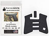 tractiongripsグリップオーバーレイデカールfor Glock 17、22、31、34、35、37世代3