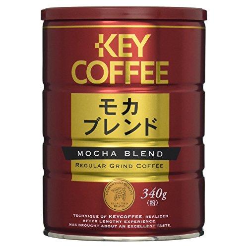 キーコーヒー 缶モカブレンド 340g