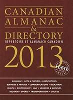 Canadian Almanac & Directory 2013 / Repertoire et Almanach Canadien 2013 (Canadian Almanac and Directory)