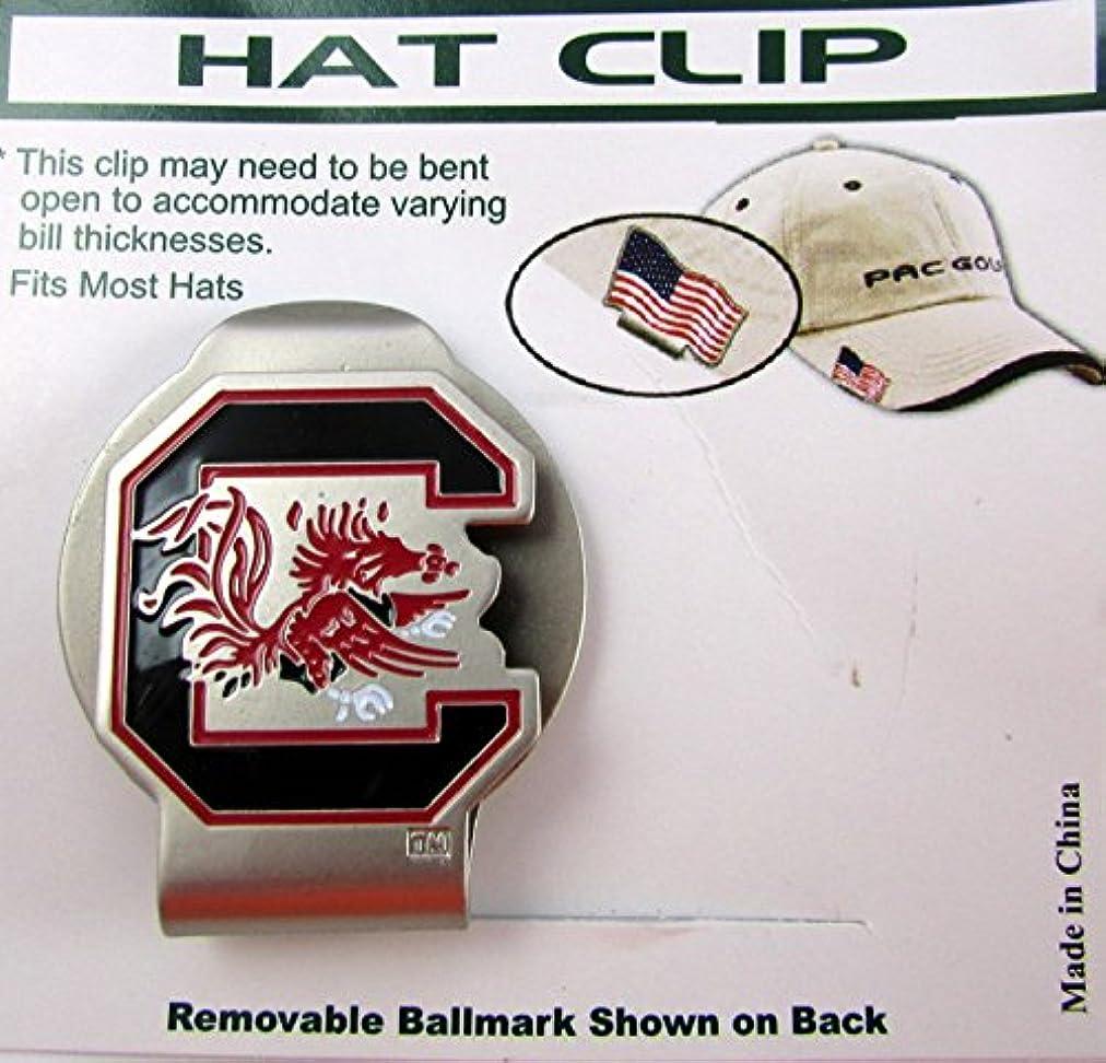 線ごめんなさい同行するPacゴルフHatclip W / Ballmarkボールmarkballmarker NCAA South Carolina Gamecocks