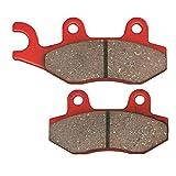 DAYTONA(デイトナ) ブレーキパッド 赤パッド フロント:ジェベル250/DトラッカーX/KLX250 など