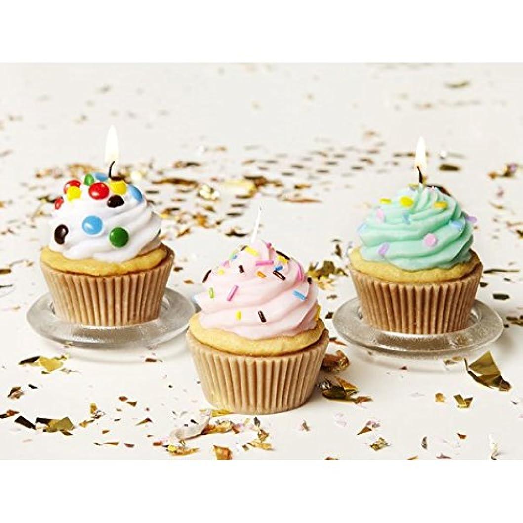 バルク減衰ここにカメヤマキャンドルハウス:アメリカンカップケーキキャンドル アソート(6個セット)