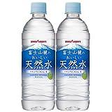 ポッカサッポロ 富士山麓のおいしい天然水 530ml 24本入×2ケース(48本)
