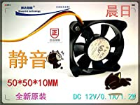 WINMING Brand new Mute Morning 5010 5CM cm 50*50*10MM 12V battery car motherboard cooling fan