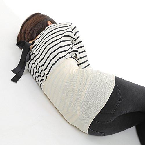 NANA シルク腰痛サポーター 腹巻き 冷え性対策 冷え取り 薄手 腰痛緩和 腰痛改善 温め しっとり 柔らか レディース メンズ フリーサイズ