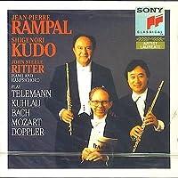 Scherzo 1 TWV 42:A1 Trietto 3 TWV 42:d1 Trio per 2 flauti e piano op 119 in SOL Sonata per 2 flauti e cembalo n.3 BWV 1029 in sol Flauto magico K 620 (1791) (per 2 flauti)