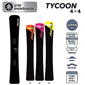 15-16 GRAY グレイスノーボード Tycoon 4×4 アルペンボード (162)