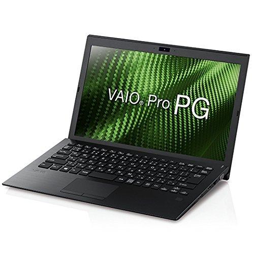VAIO VAIO Pro PG 13.3型ワイド/i5/4G/128G/TPM/指紋/Win10Pro/黒/VAIO株式会社製  VJPG111JAL1B