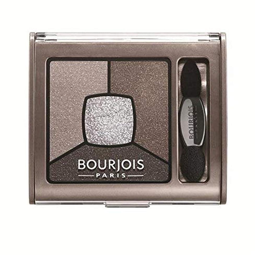 [Bourjois ] ヌード良いブルジョワクワッドスモーキー話のアイシャドウパレット - Bourjois Quad Smoky Stories Eyeshadow Palette Good Nude [並行輸入品]