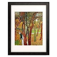 フィンセント・ファン・ゴッホ Vincent Willem van Gogh 「The Falling Leaves」 額装アート作品