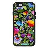 【日本正規代理店品】 Trident AEGISシリーズ Design Edition iPhone6用 耐衝撃ケース Kim Parker India Garden/Black PCAG-API647-BK029