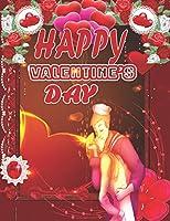 HAPPY VALENTINE'S DAY: A Fun Valentine's Day Coloring Book of Hearts (VOL-1)