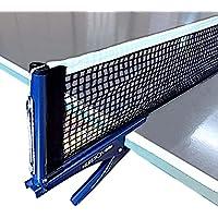 [GLEOOD] 卓球ネット ポール付 取り付け簡単 すぐつけられる 国際規格 卓球台 対応