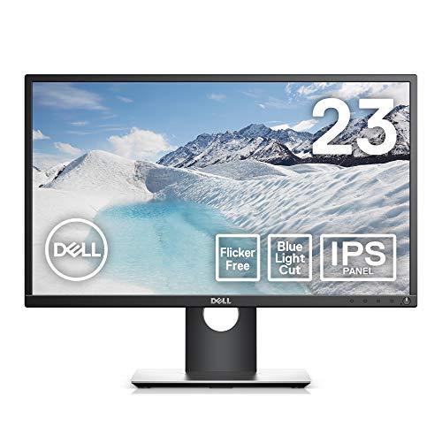 Dell モニター 23インチ 超広視野角&スリムベゼル/フルHD/フリッカーフリー/ブルーライト軽減/DP,HDMI,D-Sub/高さ調整 回転/プレミアムパネル3年保証 P2317H