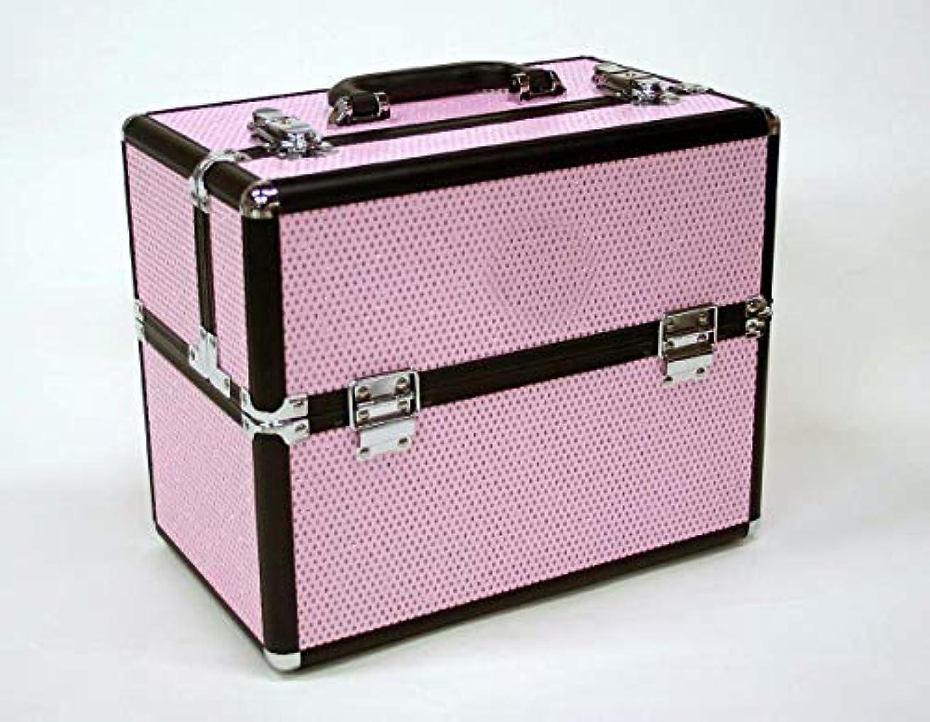護衛対抗揺れるメイクボックス D2651IK-6 軽量タイプ コスメボックス 化粧箱 メイクアップボックス Make box MAKE UP BOX