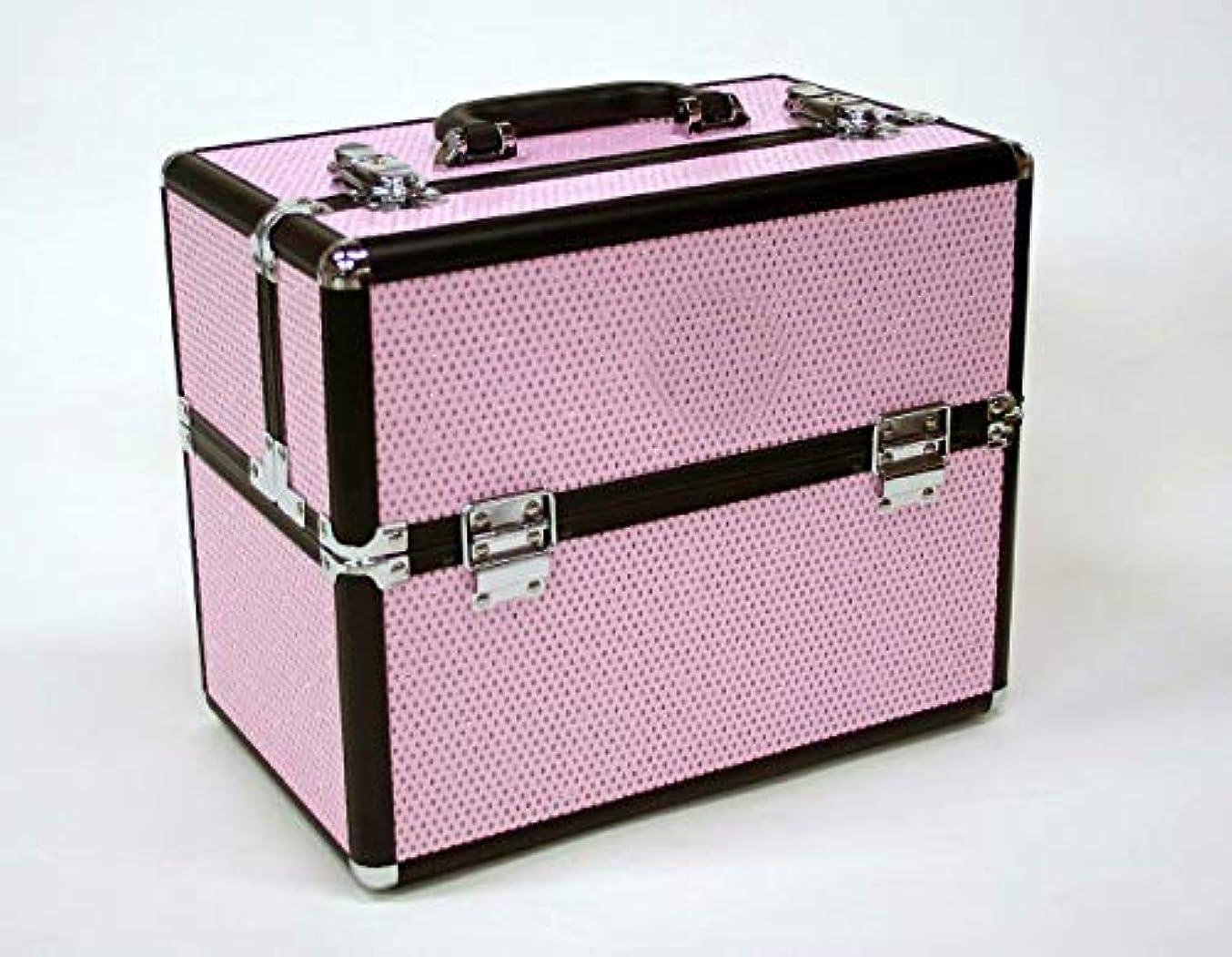触覚実現可能性泳ぐメイクボックス D2651IK-6 軽量タイプ コスメボックス 化粧箱 メイクアップボックス Make box MAKE UP BOX