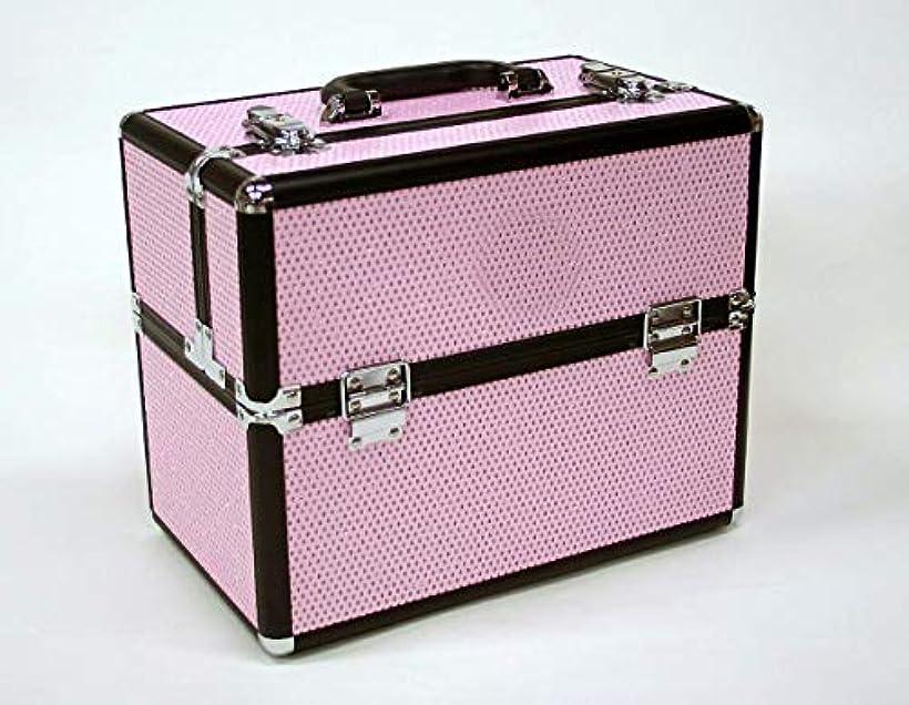 ルーチン唯物論定説メイクボックス|D2651IK-6|軽量タイプ|コスメボックス 化粧箱 メイクアップボックス|Make box MAKE UP BOX