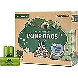 Pogi's Poop Bags - 30 Rolls (450 Bags) - Earth-Friendly, Scented, Leak-Proof Pet Waste Bags