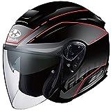 BEAMS オージーケーカブト(OGK KABUTO) バイクヘルメット ジェット ASAGI BEAM(ビーム) フラットブラック (サイズ:XL) 569563