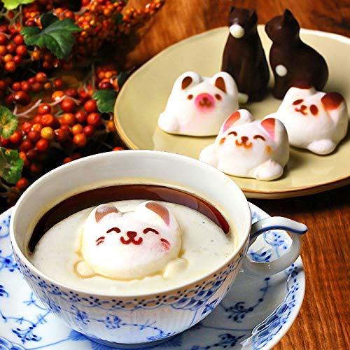 まとめ買い Latte マシュマロ ラテマル 3個 ねこ チョコレート 2個 動物 スイーツ お菓子 詰め合わせ お家の箱入り 3箱 セット