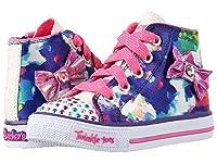 [スケッチャーズ] KIDS ガールズ Twinkle Toes - Artsy Up 10698N Lights (Toddler/Little Kid) スニーカー White/Purple 6 Toddler(13cm) - M [並行輸入品]