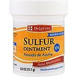De La Cruz Sulfur Ointment Acne Medication 2.6oz