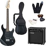 エレキギター ヤマハ PACIFICA120H ヤマハアンプ GA15II 付属 入門8点セット 初心者セット ハムバッキング トレモロレス (BL)