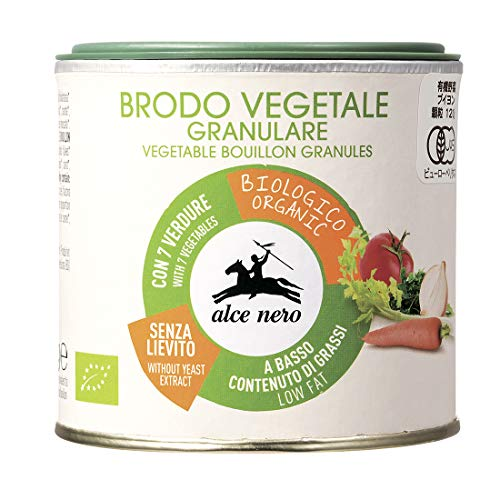 ALCE NERO(アルチェネロ)有機野菜ブイヨン・パウダータイプ 120g