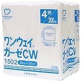 ワンウェイガーゼCW 1502 30cm×30cm 4折 200枚入 【一般医療機器】