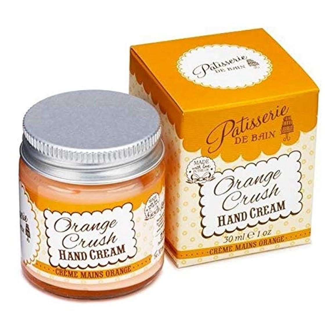怒って送るセール[Patisserie de Bain ] パティスリー?ド?ベインオレンジクラッシュハンドクリームジャー30ミリリットル - Patisserie de Bain Orange Crush Hand Cream Jar...